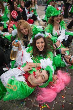 Ξάνθη (Xanthi) in Ξάνθη, Ξάνθη Four Square, Carnival, Culture, Mardi Gras, Carnival Holiday