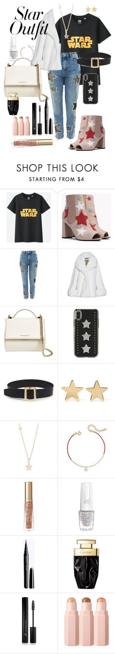 """""""shining"""" by auroratognoli ❤ liked on Polyvore featuring Uniqlo, VIVETTA, Givenchy, diverse, Jennifer Meyer Jewelry, ZoÃ« Chicco, Too Faced Cosmetics, Isadora, Forever 21 and Sephora Collection"""