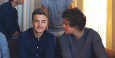 Lirry (gif) Totes adorbs. Daddy Directioner and Baby Directioner.