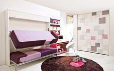 kinder-etagenbett -bilder-jugendzimmer-baby-ausziehbett