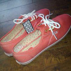 I love my new shoes; vans; sailboats and anchors.