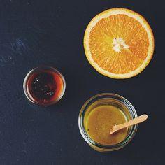 Honig-Senf-Dressing, Vinaigrette, Salatsauce, Dressing, Salz, Pfeffer, Honig, Senf, Öl