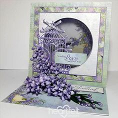 For the Love of Lilacs - created w/ the Lush Lilac Collection from #HeartfeltCreations #papercraft #craft #card #cardmaking #anyoccasion #thinkingofyou