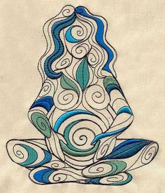 An earthy goddess swells with the promise of new life. 