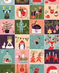» Search Results » Illustrated advent calendar