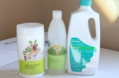 Using the Shaklee cleaners in your carpet steam cleaner. I am seriously in LOVE with all of my Shaklee cleaners!