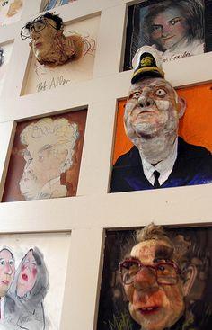 Artwork at Warehouse Bar & Grill - D.C.