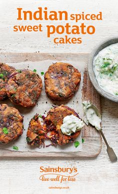 We've ALWAYS loved a good potato cake, but these Indian spiced beauties are next level delicious. Perfect for a veggie lunch.