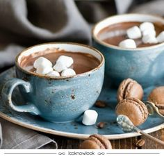 Receita de chocolate quente #receita #gastronomia #chocolate #frio #inverno #domingo #relax #doce #recipe #sunday #dica #lnl #looknowlook