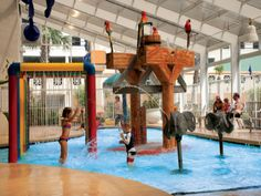 When you are ready to book your Myrtle Beach, South Carolina vacation Oceanfront Dunes Village Resort offers an indoor waterpark and much, much more! | Click on the pin for additional info and other fun-filled resorts in the Myrtle Beach area.
