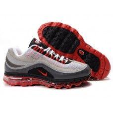 Femme Nike Air Max 24-7 Grey/Rouge