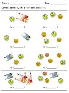 Euro, Simple, Fractions, Tens And Ones, Kids Math, Math Resources, Water Fountains