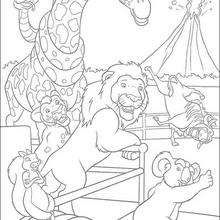the wild coloring book pages 55 free disney printables for kids to color online