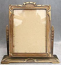 Art Deco Wood Swing Picture Frame; Gorgeous!! Almost bought one exactly like it off of ebay!!