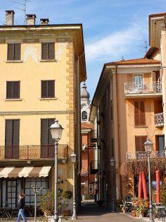 Lovely Buildings in Menaggio, Lake Como, Italy