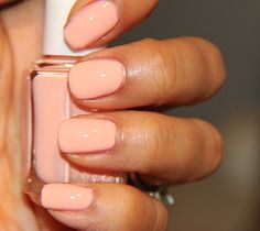 "essie ""a crewed interest"" nail lacquer:  would be lovely on girls w/olive skin tones like myself"