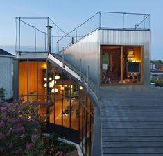Landscape House by Mabire Reich in Nantes, France