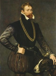 ANTONIS MOR Portrait of a Gentleman, 1569 Oil on canvas 47 1/8 × 34 3/4 in 119.7 × 88.3 cm Courtesy National Gallery of Art, Washington National Gallery of Art, Washington D.C.