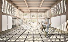 japanese dojo interior architecture - Architecture and Design