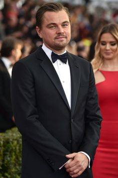 Pin for Later: Leonardo DiCaprio Continues His Handsome Streak at the SAG Awards