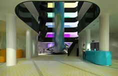 concept for VEN Hotel Amsterdam 2015 by Karim Rashid Eco City, Interior And Exterior, Interior Design, Karim Rashid, Amsterdam City, Hotel Spa, Industrial Design, Furniture Design, Instagram Posts