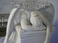 Funny pictures about My Guardian Angel Is About To Give Up. Oh, and cool pics about My Guardian Angel Is About To Give Up. Also, My Guardian Angel Is About To Give Up photos. Funny Quotes, Funny Memes, Hilarious, Jokes, Funniest Memes, Laugh Quotes, Really Funny, The Funny, My Guardian Angel