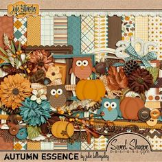 Scrapbooking Autumn