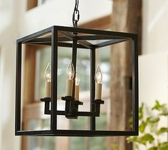 Talbot Indoor/Outdoor Lantern #potterybarn, possible for old DR