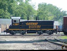 RailPictures.Net Photo: GWWR 1201 Gateway Western Railway EMD SW1200 at Kansas City, Missouri by Nathan Chidester