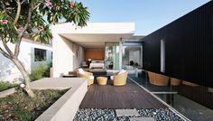 Outdoor Lounge Decking to Stepping Stones Ideas
