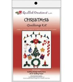 Quilled Creations Quilling Kits-Christmas