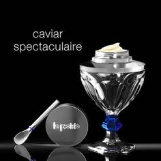 La Prairie, Baccarat join forces to craft $2.2K crystal server #lux #luxury #posh #wellness #improvement