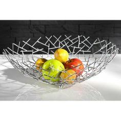 Neofurn - Abstract design fruit bowl metal rods 45cm basket