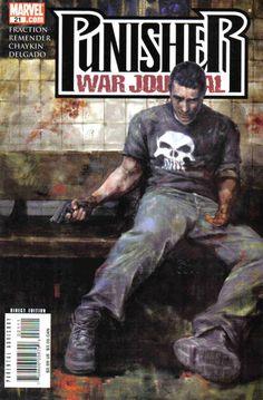 Punisher War Journal Vol. 2 # 21 by Alex Maleev