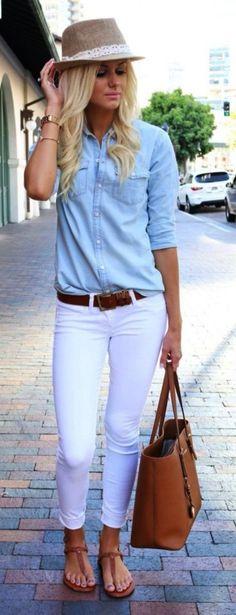 b0b7e97dfe1 42 nejlepších obrázků z nástěnky Bílé kalhoty
