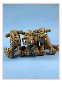These camels are part of the new Woolytoons Nativity scene, crochet. You can see more pictures or find the pattern here: The Donkey, The Shepherd, Christmas Nativity, Camels, Rodents, Photo Tutorial, Pet Store, More Pictures, Sheep
