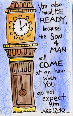 Luke 12:40