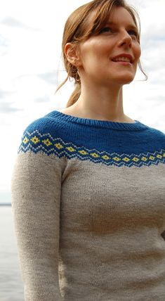 Saint Remy Pullover pattern by yours truly