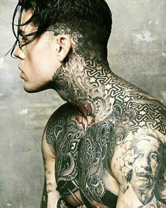 This issue is the most creative issue yet of Model Citizen Magazine. Hot Tattoos, Tattoos For Guys, Tattoo Guys, Face Tattoos, Sailor Jerry Flash, Stephen James Model, Dragon Tattoo Back Piece, Sailor Jerry Tattoos, Japanese Dragon Tattoos