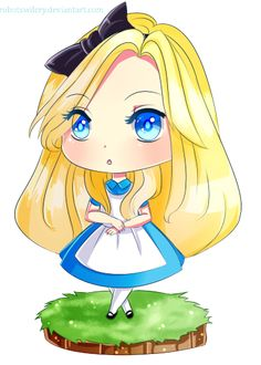 Chibi Alice by robotswilcry on deviantART