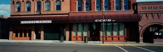 """Street Front in Butte, Montana. 2000 """"Wim Wenders America"""": Wim Wenders (fotografo) in mostra a Varese (FOTO)"""