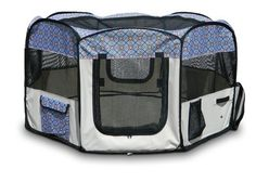 Precision Pet Snoozzy Baby Play Yard Print, 36 by 36 by 21-Inch ** Additional details at the pin image, click it  : Dog crates
