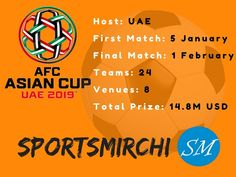 AFC Asian Cup 2019 Fixtures, Schedule, Time Table, Venues...  #AFC #AsianCup #AsianCup2019 #Football #Football2019 #asian