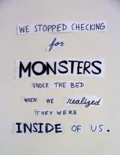 Monsters ...