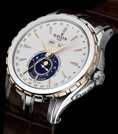 News : Edox Grand Ocean 125 Fancy Watches, Modern Watches, Expensive Watches, Stylish Watches, Cool Watches, Vintage Watches, Swiss Luxury Watches, Luxury Watches For Men, Amazing Watches