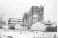 Ikazia ziekenhuis met Brabantse dorp Rotterdam, Holland, Dutch, Multi Story Building, Europe, History, City, Outdoor, Historical Photos