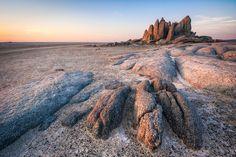 Photo of Landscape taken at Kubu Island, Makgadikgadi Pans, Botswana