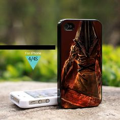 Silent Hill Pyramid Head revelation 3d 2 - For iPhone 4 / 4s Case | onlinecustomshop - Accessories on ArtFire