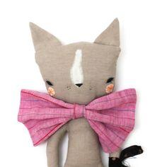 Image of FLEUR CAT - Fabric Doll