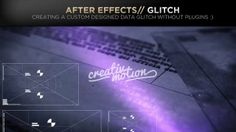 In this tutorial we will be creating some data glitch UI elements in Illustrator and and taking them into After Effects  Then adding other effects like, Chromatic aberration(RGB split), time displacement, scale  slide, blur and much more...  Preview: 00:15 UI Glitch Elements:  01:10 After Effects:  13:30